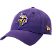 Front view of New Era Minnesota Vikings NFL Core Classic 9Twenty Adjustable Back Hat in Team Colors