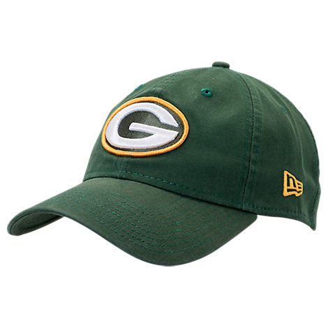 New Era Green Bay Packers NFL Core Classic 9Twenty Adjustable Back Hat