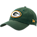 Front view of New Era Green Bay Packers NFL Core Classic 9Twenty Adjustable Back Hat in Team Colors