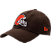 Front view of New Era Cleveland Browns NFL Core Classic 9Twenty Adjustable Back Hat in Team Colors