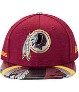 New Era Washington Redskins NFL 9FIFTY 2017 Draft Snapback Hat