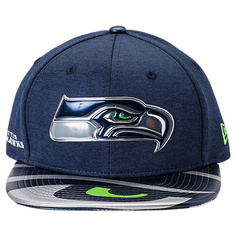 New Era Seattle Seahawks NFL 9FIFTY 2017 Draft Snapback Hat