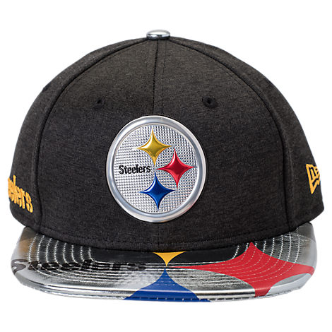 New Era Pittsburgh Steelers NFL 9FIFTY 2017 Draft Snapback Hat