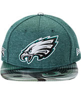 New Era Philadelphia Eagles NFL 9FIFTY 2017 Draft Snapback Hat