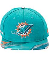 New Era Miami Dolphins NFL 9FIFTY 2017 Draft Snapback Hat