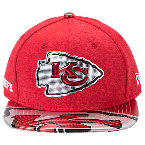 New Era Kansas City Chiefs NFL 9FIFTY 2017 Draft Snapback Hat