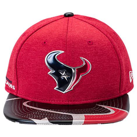 New Era Houston Texans NFL 9FIFTY 2017 Draft Snapback Hat