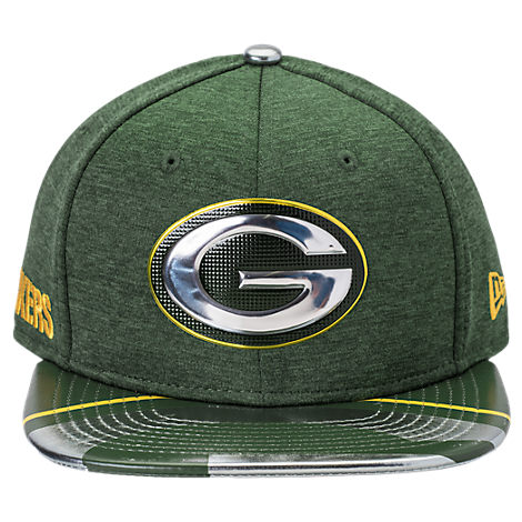 New Era Green Bay Packers NFL 9FIFTY 2017 Draft Snapback Hat