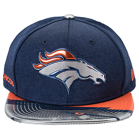 New Era Denver Broncos NFL 9FIFTY 2017 Draft Snapback Hat