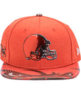 New Era Cleveland Browns NFL 9FIFTY 2017 Draft Snapback Hat