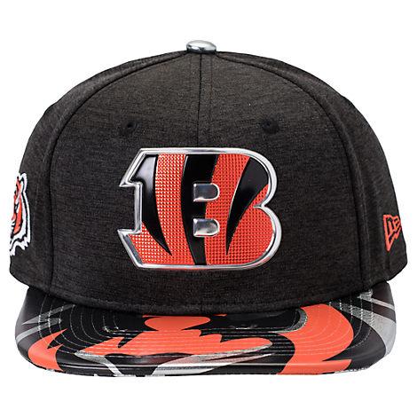 New Era Cincinnati Bengals NFL 9FIFTY 2017 Draft Snapback Hat