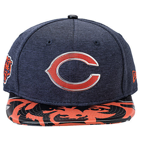 New Era Chicago Bears NFL 9FIFTY 2017 Draft Snapback Hat