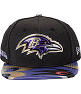 New Era Baltimore Ravens NFL 9FIFTY 2017 Draft Snapback Hat