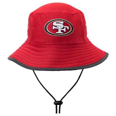 New Era San Francisco 49ers NFL Training Bucket Hat