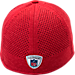 Back view of New Era San Francisco 49ers NFL Training Mesh 39THIRTY Flex Hat in Team Colors