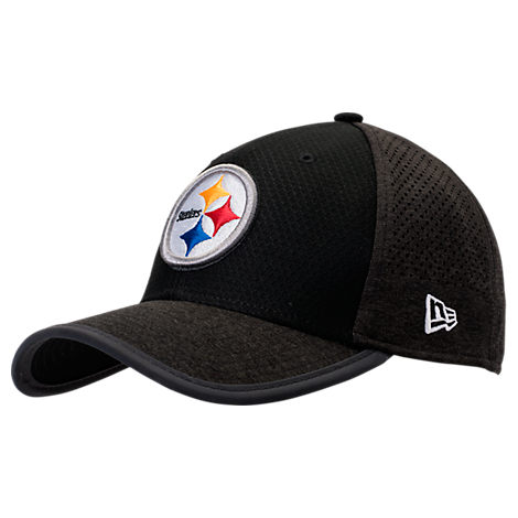 New Era Pittsburgh Steelers NFL Training Mesh 39THIRTY Flex Hat