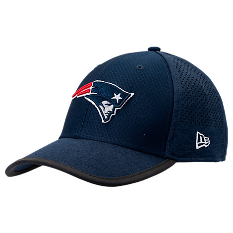 New Era New England Patriots NFL Training Mesh 39THIRTY Flex Hat