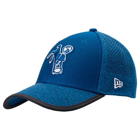 New Era Indianapolis Colts NFL Training Mesh 39THIRTY Flex Hat