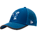 Front view of New Era Indianapolis Colts NFL Training Mesh 39THIRTY Flex Hat in Team Colors