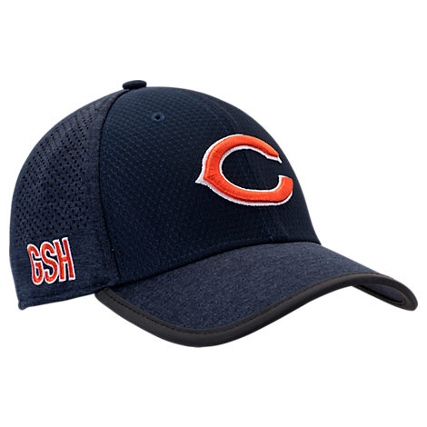New Era Chicago Bears NFL Training Mesh 39THIRTY Flex Hat