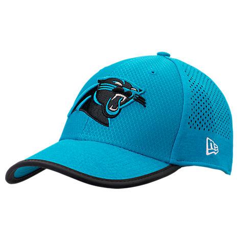New Era Carolina Panthers NFL Training Mesh 39THIRTY Flex Hat