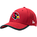 Front view of New Era Arizona Cardinals NFL Training Mesh 39THIRTY Flex Hat in Team Colors
