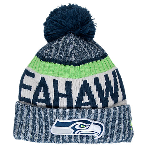 New Era Seattle Seahawks NFL Sideline Knit Hat