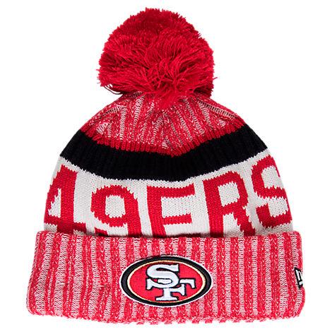 New Era San Francisco 49ers NFL Sideline Knit Hat