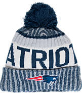 New Era New England Patriots NFL Sideline Knit Hat