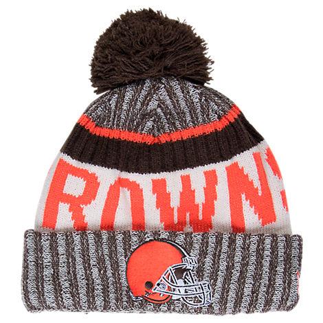 New Era Cleveland Browns NFL Sideline Knit Hat