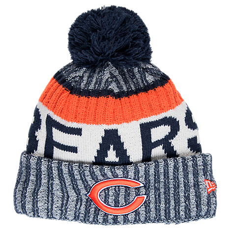 New Era Chicago Bears NFL Sideline Knit Hat