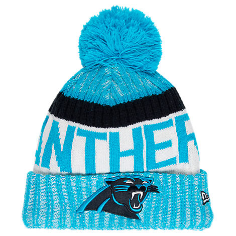 New Era Carolina Panthers NFL Sideline Knit Hat