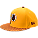 Front view of New Era Washington Redskins NFL Sideline 9FIFTY Snapback Hat in Team Colors