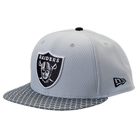 New Era Oakland Raiders NFL Sideline 9FIFTY Snapback Hat