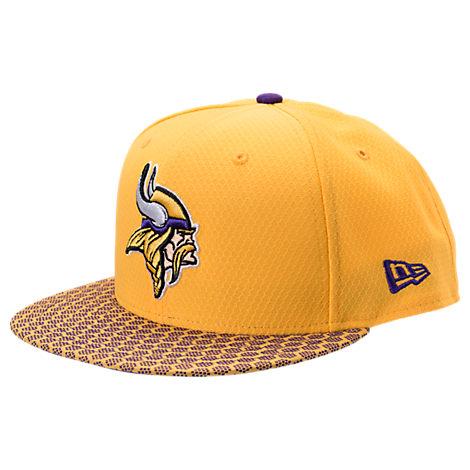 New Era Minnesota Vikings NFL Sideline 9FIFTY Snapback Hat