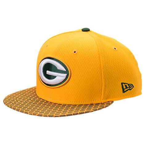 New Era Green Bay Packers NFL Sideline 9FIFTY Snapback Hat