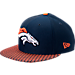Front view of New Era Denver Broncos NFL Sideline 9FIFTY Snapback Hat in Team Colors