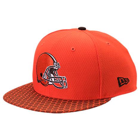 New Era Cleveland Browns NFL Sideline 9FIFTY Snapback Hat