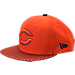 Front view of New Era Chicago Bears NFL Sideline 9FIFTY Snapback Hat in Team Colors
