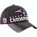 Back view of New Era New England Patriots NFL Super Bowl 51 Champions Strapback Hat in Black