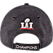 Alternate view of New Era New England Patriots NFL Super Bowl 51 Champions Strapback Hat in Black