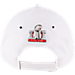 Alternate view of New Era Atlanta Falcons NFL SB51 Conference Champion Adjustable Hat in White