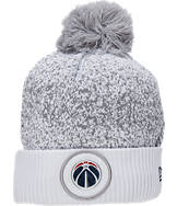 New Era Washington Wizards NBA On Court Collection Pom Knit Hat