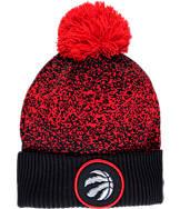 New Era Toronto Raptors NBA On Court Collection Pom Knit Hat
