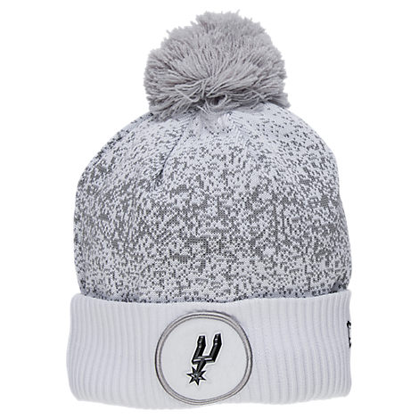 New Era San Antonio Spurs NBA On Court Collection Pom Knit Hat