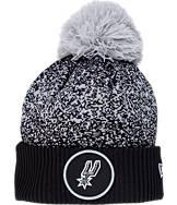 New Era San Antonio Spurs NBA On Court Collection Pom Knit Hat