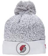 New Era Portland Trail Blazers NBA On Court Collection Pom Knit Hat