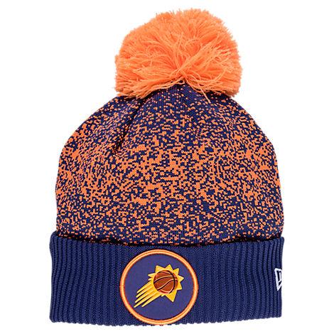 New Era Phoenix Suns NBA On Court Collection Pom Knit Hat