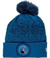 New Era Minnesota Timberwolves NBA On Court Collection Pom Knit Hat