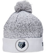 New Era Memphis Grizzlies NBA On Court Collection Pom Knit Hat